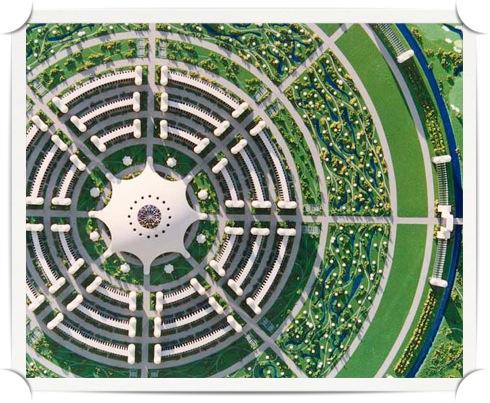 paradise-in-disguise-illustration-3-circular-cities-jacque-fresco